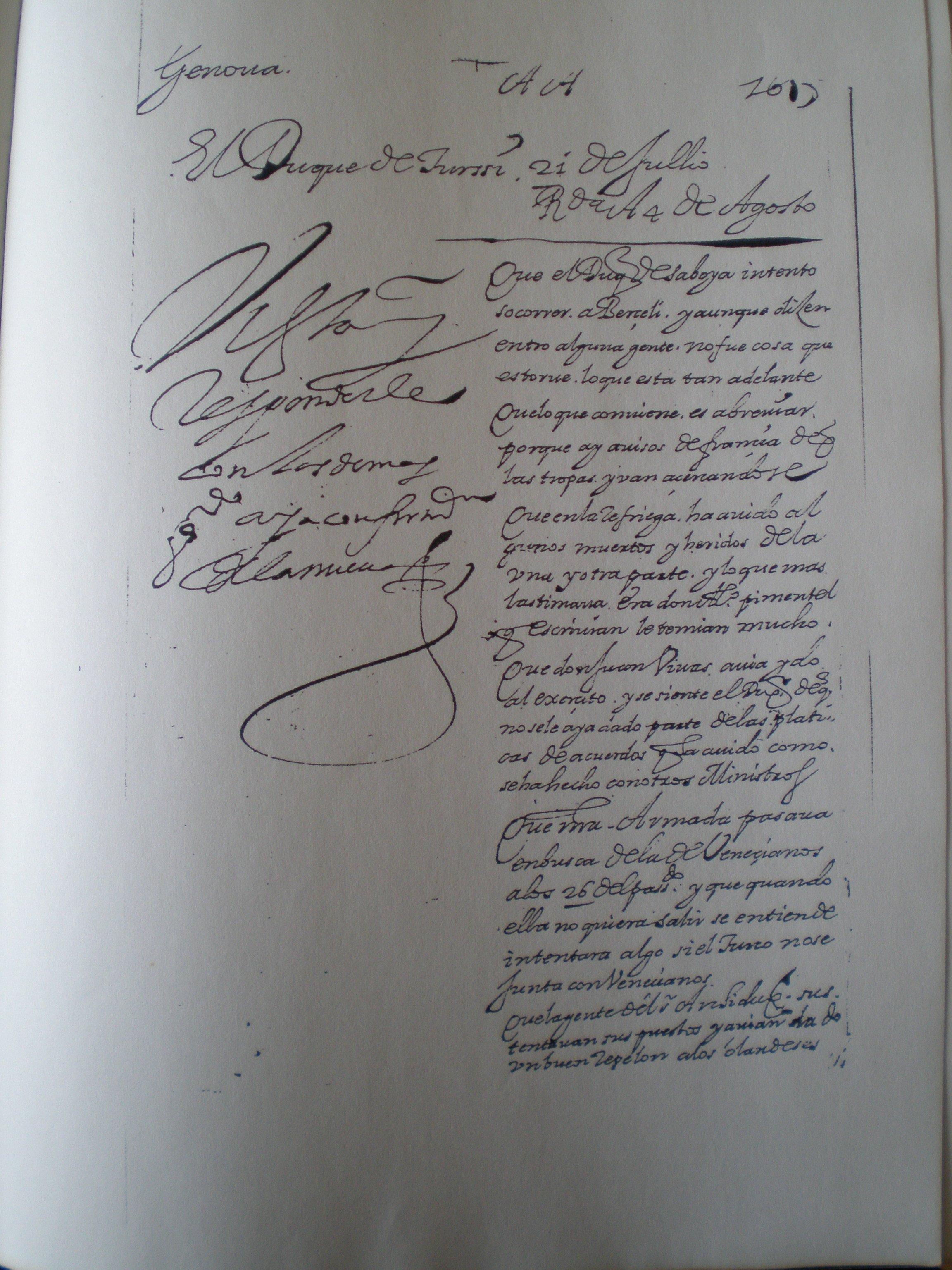 Texto original de 1618.
